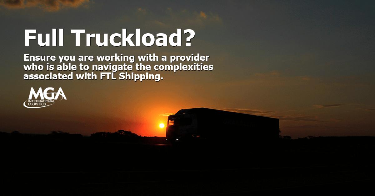 Full Truckload Shipping Companies