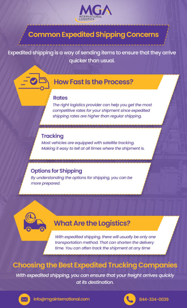 expedited shipping companies
