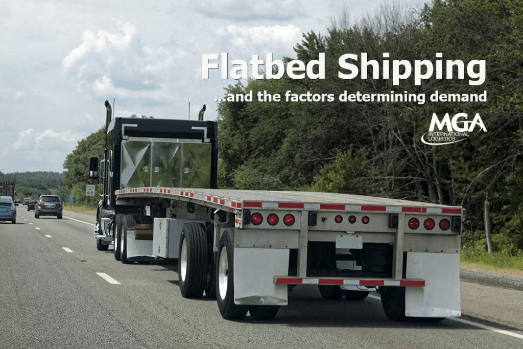 Determine the Demand for Flatbed Shipping