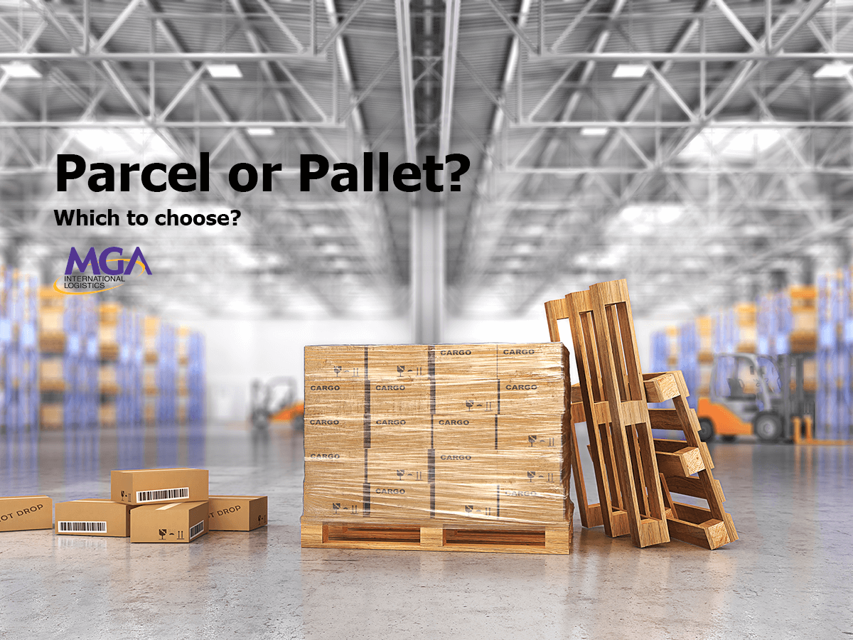 Parcel or Pallet Shipping