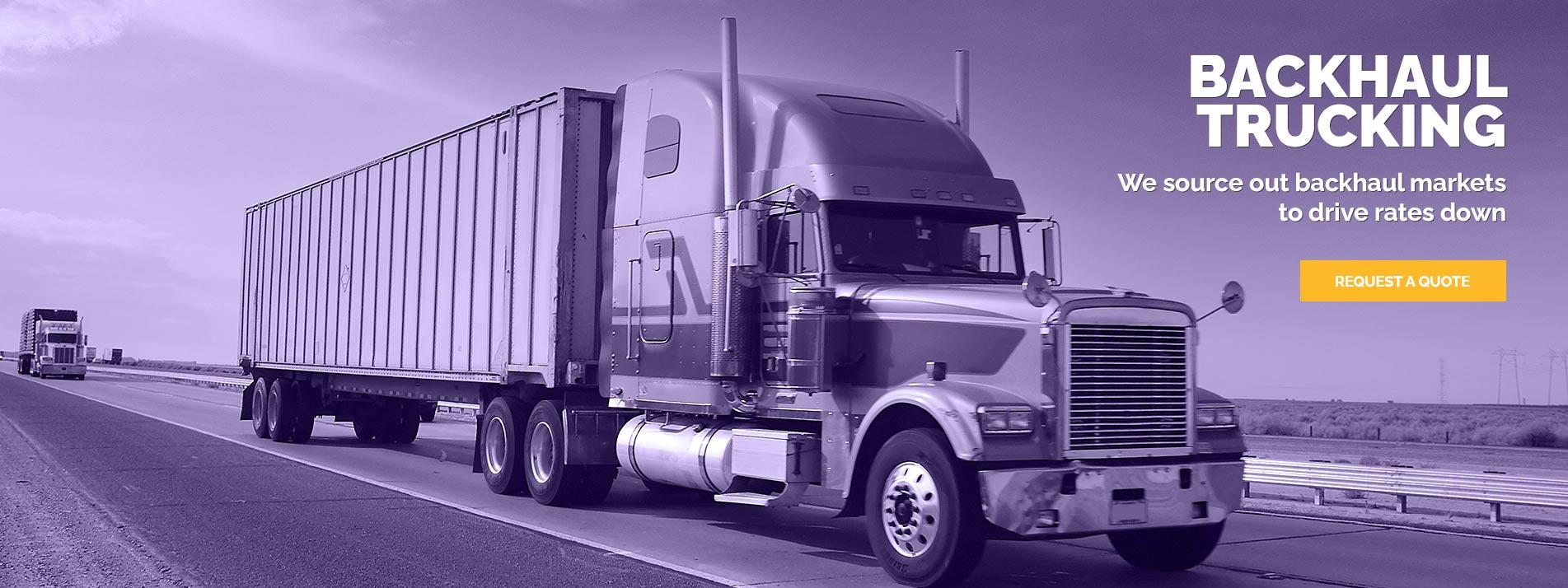Backhaul Trucking