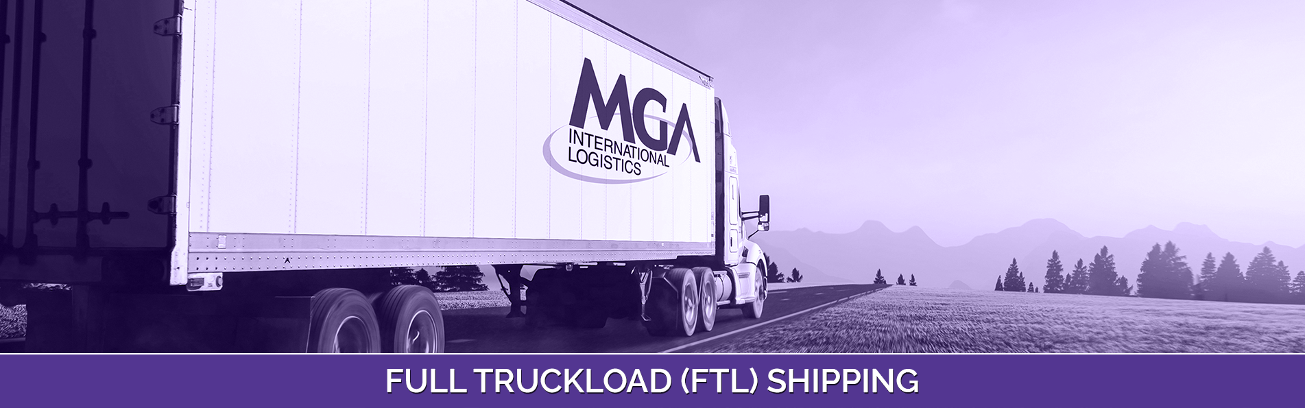Full Truckload (FTL) Shipping
