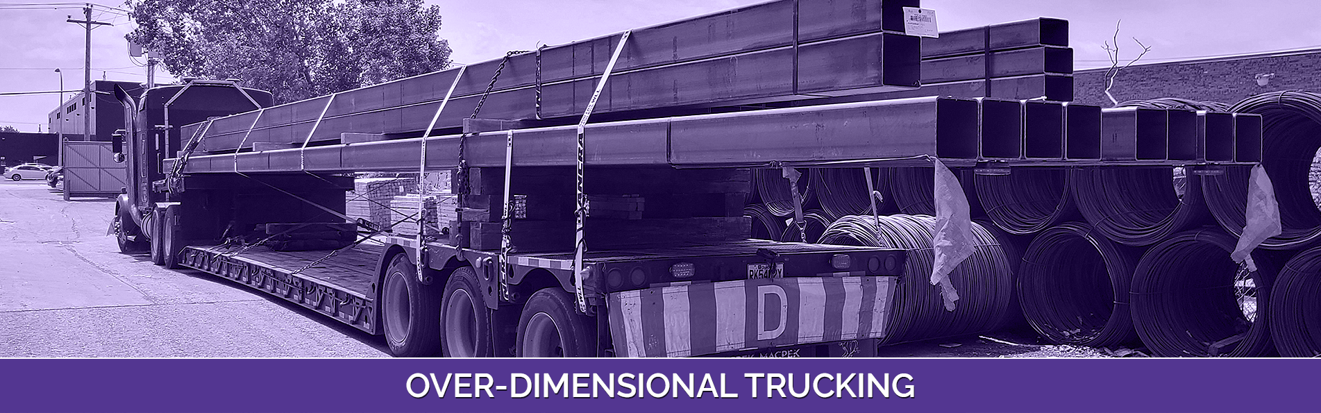Over-dimensional Trucking